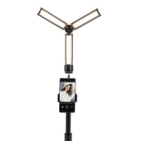 Mobile Video Light LoomiPod OnTheGo with Tripod and Smartphone Holder