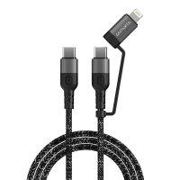 USB-C auf USB-C und Lightning Kabel ComboCord CL 1.5m...