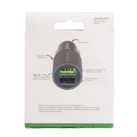 Car Charger Rapid 30W with Quick Charge matt grey