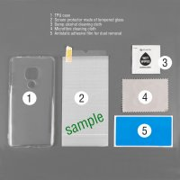 360° Protection Set for Samsung Galaxy A41 clear
