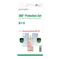 360° Protection Set for Samsung Galaxy A42 5G clear