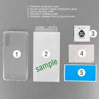 360° Protection Set for Samsung Galaxy A51 clear
