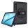 Rugged Tablet Tasche GRIP für Samsung Galaxy Tab S7+ schwarz