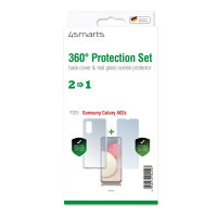 360° Protection Set for Samsung Galaxy A02s clear