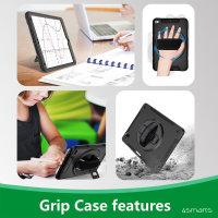 Rugged Case Grip für Samsung Galaxy Tab S6 Lite schwarz