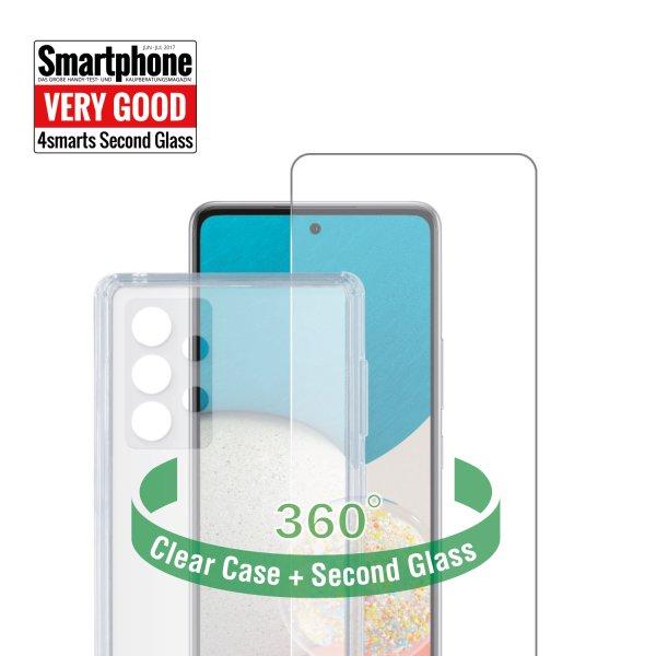 360° Protection Set für Samsung Galaxy A52 / A52 5G / A52s 5G transparent