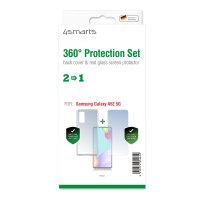 360° Protection Set for Samsung Galaxy A52 / A52 5G clear