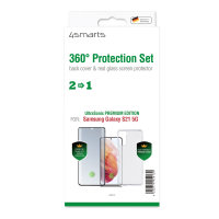 360° Protection Set Premium UltraSonix für Samsung Galaxy S21 5G schwarz