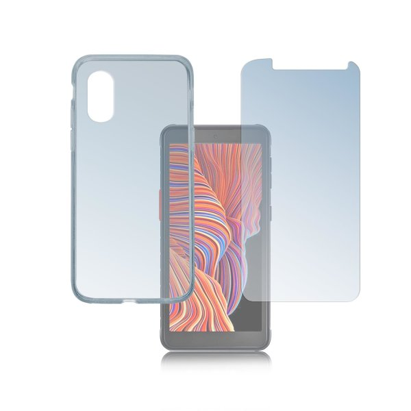 360° Protection Set for Samsung Galaxy Xcover 5 clear