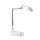 Selfie Stand LoomiPod Fold with LED Lamps and Bluetooth Remote for Smartphones white