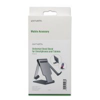 Desk Stand Fold for Smartphones and Tablets grey