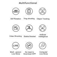 FollowMe LoomiPod Halter mit Objekt-Verfolgung für Smartphones und Kameras