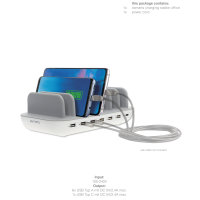 Charging Station Office 60W white