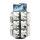POS Theken Aufsteller Premium, 3-seitig, drehbar