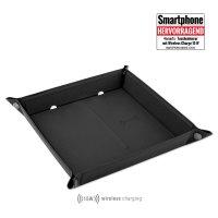 Pocket Tray Organizer with Wireless Charger 15W black /...