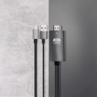 Active Adapter USB-C to HDMI 4K (DeX and Easy Projection) with USB-A Charging Cable 1.8m