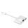 3in1 Hub Lightning to Ethernet, USB-A and Lightning, white