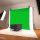 Chroma-Key Green Screen Set mit Klammern und Halteösen