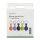 Silicone Case Set for AirTags 5 pcs. (green, purple, black, blue, orange)