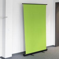 Selbst Stehender Chroma-Key Green Screen 1,1x2m