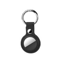 Leatherette Case for AirTags black