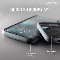Liquid Silicone Case Cupertino für Apple iPhone 13 schwarz
