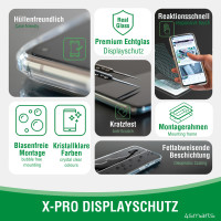 Second Glass X-Pro Clear with Mounting Frame for Apple iPhone 13 / 13 Pro