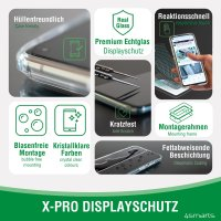 Second Glass X-Pro Full Cover mit Montagerahmen für Apple iPhone 13 Pro Max