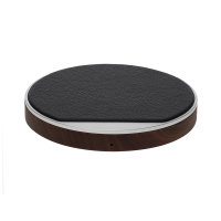 Wireless Charger Ligno 10W silver / black
