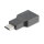 Passiver Adapter Picco USB-C to HDMI 4K (DeX, Easy Projection) grey