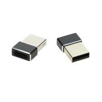 Passiver Adapter USB-A auf USB-C  2er Set schwarz