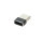 Passive Adapter USB-A to USB-C Set of 2 black