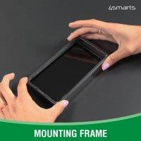 360° Starter Set mit X-Pro Clear Glas, Montagerahmen und Clear Hülle für Apple iPhone 13 Pro