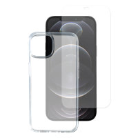 360° Starter Set with X-Pro Clear Glass, Mounting Frame and Clear Case for Apple iPhone 12 Pro Max