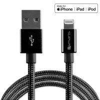 USB-A to Lightning Cable RapidCord MFi certified 1m black