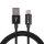 USB-A auf USB-C Kabel RapidCord 2m schwarz