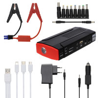 Jump Starter Power Bank Ignition 13800mAh with Torch black / red