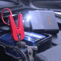 Jump Starter Power Bank PitStop 8800mAh with Compressor and Torch black