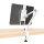 Desk Holder ErgoFix H9 for Smartphones and Tablets white