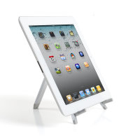 Portable Desk Stand ErgoFix H13 for Tablets silver