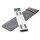 portable Desk Stand ErgoFix H18 for Laptops silver