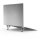Stand Set ErgoFix H10 for Laptops silver