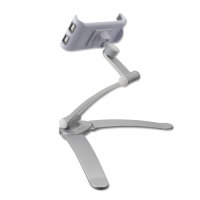 Wall Mount ErgoFix H7 with Desk Stand Function for Smartphones and Tablets silver