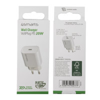 Wall Charger VoltPlug PD 20W white