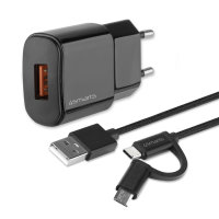 Wall Charger VoltPlug QC3.0 18W with Quick Charge and...