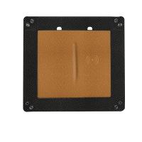 Taschenleerer mit Wireless Charger 15W schwarz / braun